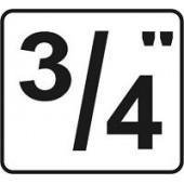 """3/4"""" головки"""