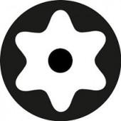 6 лучевая звезда с внутренним отверстием Torx Hole TH - биты