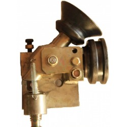 Каретка для прокатки внутренней части легкосплавного диска