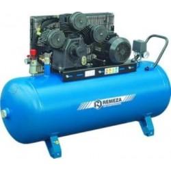 Электрический поршневой компрессор c горизонтальным расположением ресивера  Remeza AirCast 100.W80