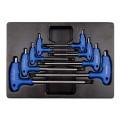 Набор L-обр ключей TORX 1163R 8пр Т10-Т50 9-22308PR